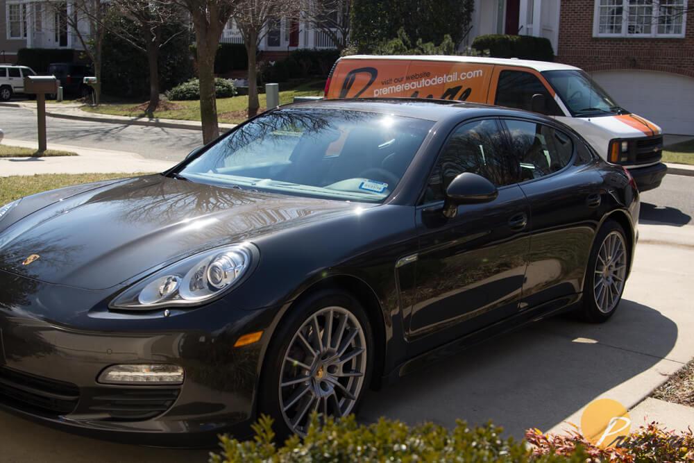 Porsche Panamera Auto Detail